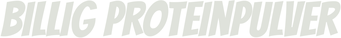 Billigproteinpulver.com